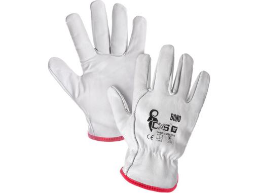 Obrázek z CXS BONO Pracovní celokožené rukavice - 120 párů