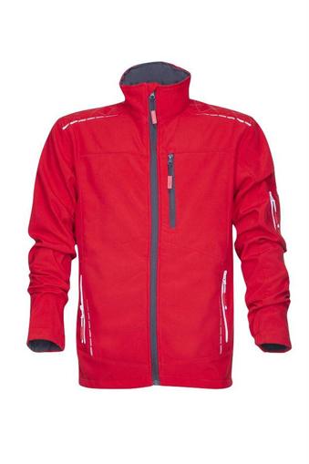 Obrázek z VISION Softshellová funkční bunda červená