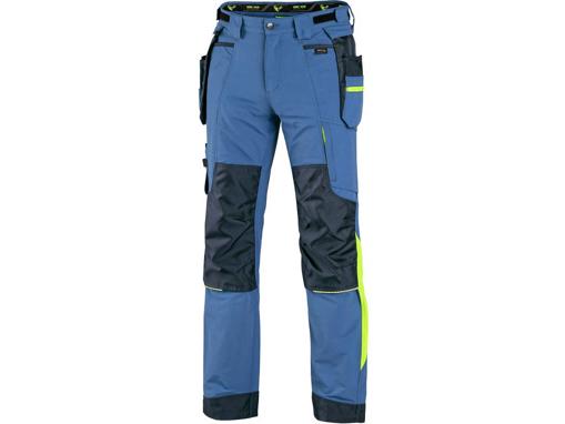 Obrázek z CXS NAOS Montérkové kalhoty modré