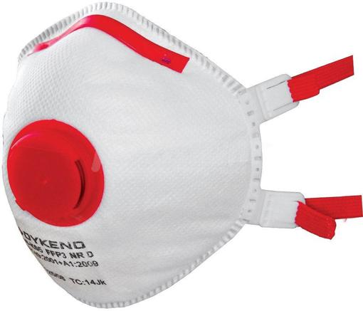 Obrázek z NR 06005 FFP3 Respirátor s ventilkem
