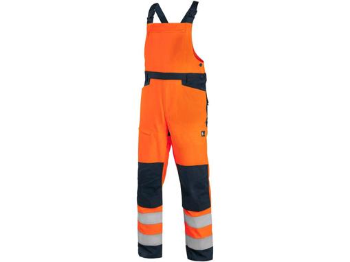 Obrázek z CXS HALIFAX Výstražné kalhoty s laclem oranžovo-modré