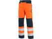 Obrázek z CXS HALIFAX Výstražné kalhoty oranžovo-modré