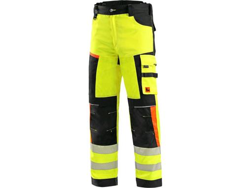 Obrázek z CXS BENSON Výstražné kalhoty žluto-černé