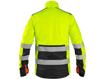 Obrázek z CXS BENSON Výstražná softshellová bunda žluto-černá