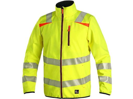 Obrázek z CXS HOVE Výstražná bunda žlutá