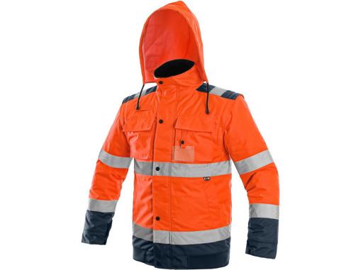 Obrázek z CXS LUTON Výstražná bunda 2v1 oranžová