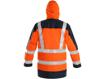 Obrázek z CXS LONDON Výstražná bunda 5v1 oranžovo-modrá
