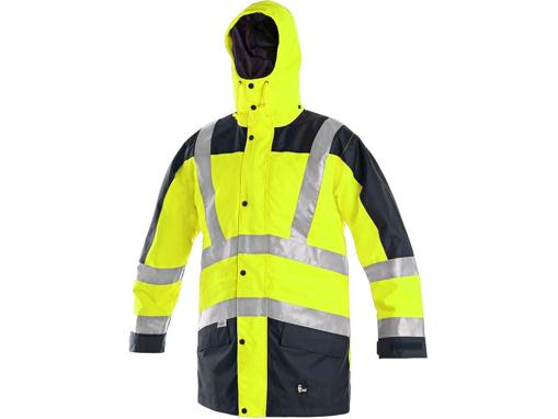Obrázek z CXS LONDON Výstražná bunda 5v1 žluto-modrá