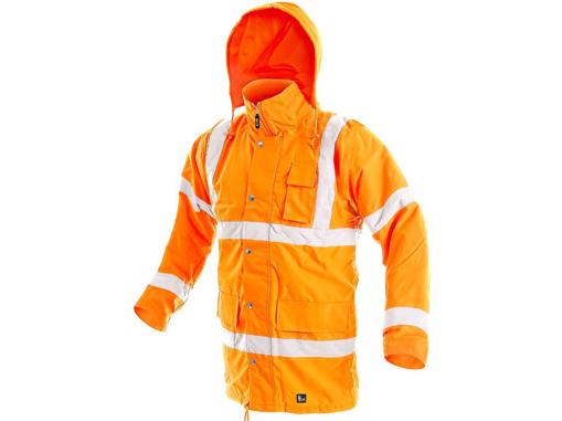 Obrázek z CXS CAMBRIDGE Výstražná bunda oranžová