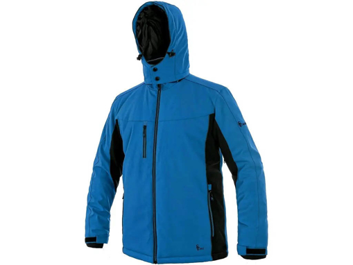 Obrázek z CXS VEGAS Pánská softshellová bunda modro / černá - zimní