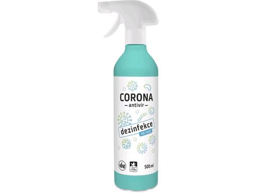 Obrázek z ZENIT Dezinfekce na ruce CORONA, 500 ml