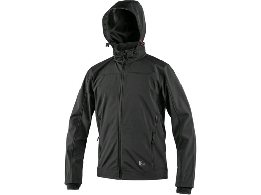 Obrázek z CXS LAVAL Pánská softshellová bunda černá