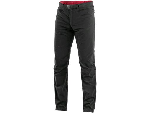 Obrázek z CXS OREGON Pánské kalhoty do pasu, letní, černo-červené