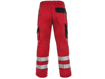 Obrázek z CXS LUXY BRIGHT Pracovní kalhoty do pasu červeno / černé