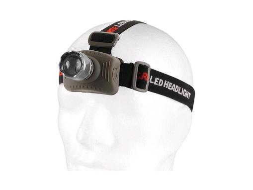 Obrázek z CXS LED čelovka s hliníkovým tělem