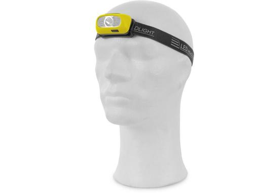Obrázek z CXS Čelovka CREE LED XPG, nabíjecí, žluto-černá
