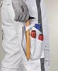 Obrázek z ARDON URBAN Pracovní kalhoty do pasu bílé zkrácené