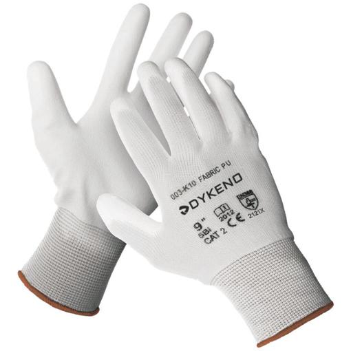 Obrázek z DYKENO FABRIC Pracovní rukavice bílá