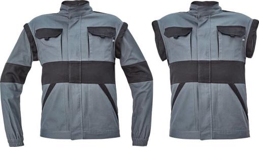 Obrázek z Cerva MAX NEO Pracovní montérková bunda 2v1 antracit / černá