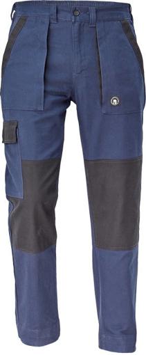 Obrázek z Cerva MAX NEO Pracovní kalhoty do pasu navy/ černá