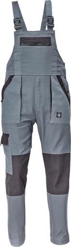 Obrázek z Cerva MAX NEO Pracovní kalhoty s laclem antracit / černá