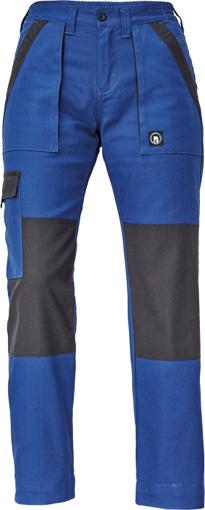 Obrázek z Cerva MAX NEO LADY Pracovní kalhoty do pasu modro / černé
