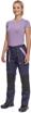 Obrázek z Cerva MAX NEO LADY Pracovní kalhoty do pasu navy / sv.fialová