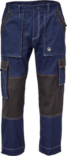Obrázek z Červa MAX SUMMER Pracovní kalhoty do pasu navy / antracit
