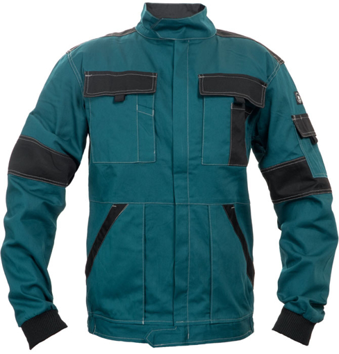 Obrázek z Červa MAX SUMMER Pracovní montérková bunda zeleno / černá