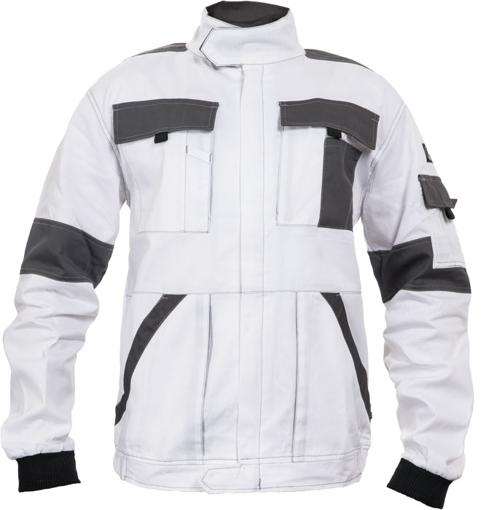 Obrázek z Červa MAX SUMMER Pracovní montérková bunda bílo / šedá