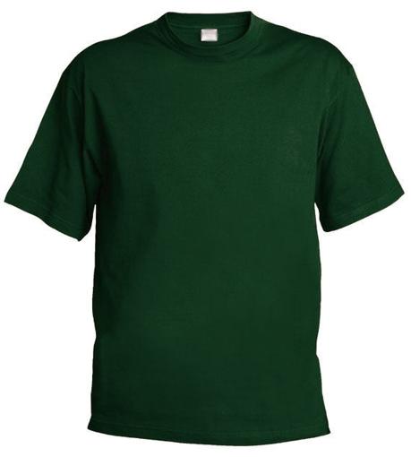 Obrázek z Pánské/dětské tričko Chok 160 tmavě zelené