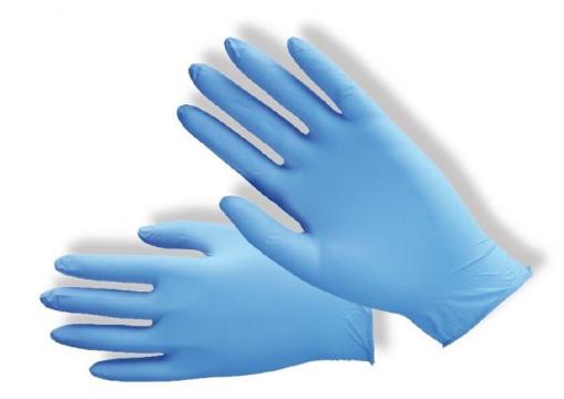 Obrázek z PD-NT-PWF Pracovní jednorázové rukavice modré