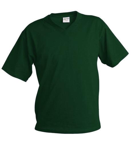 Obrázek z Pánské tričko véčko TV tmavě zelená