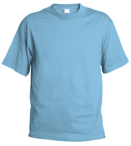 Obrázek z Pánské tričko T55 nebesky modrá