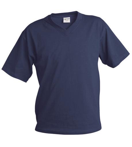Obrázek z Pánské tričko véčko TV námořní modrá