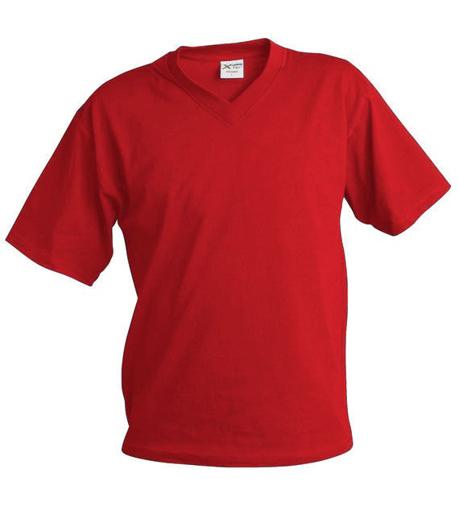 Obrázek z Pánské tričko véčko TV červená