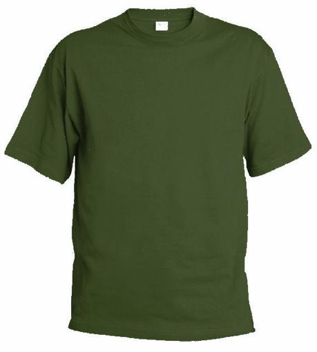 Obrázek z Pánské tričko T9 olivová