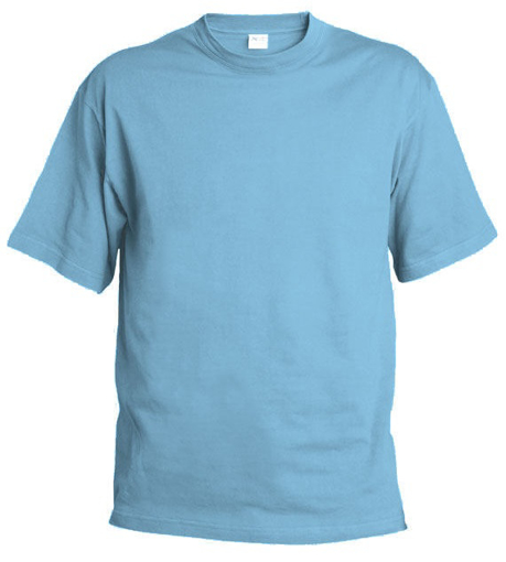Obrázek z Pánské tričko T9 nebesky modrá