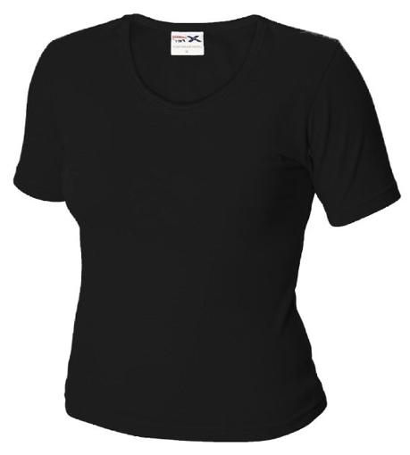 Obrázek z Dámské tričko TLA černé