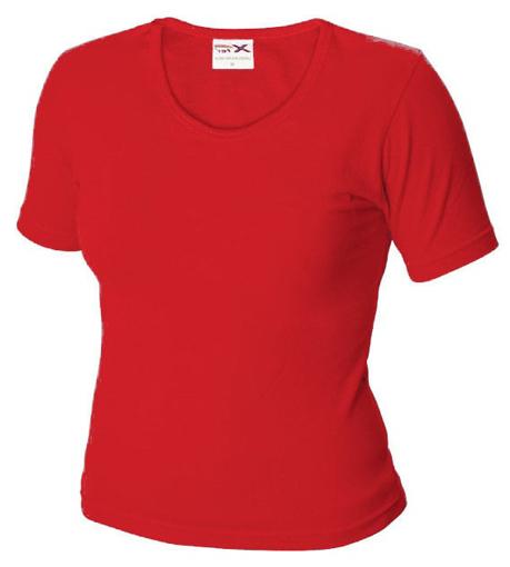Obrázek z Dámské tričko TLA červené