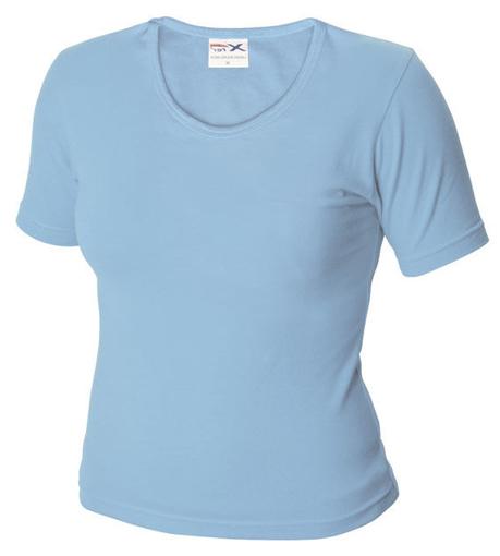 Obrázek z Dámské tričko TLA nebesky modrá