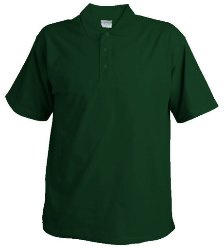 Obrázek z Pánská hladká polokošile Chok 190  tmavě zelená