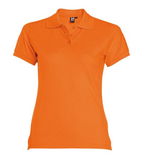 Obrázek z Dámská polokošile Estrella oranžová