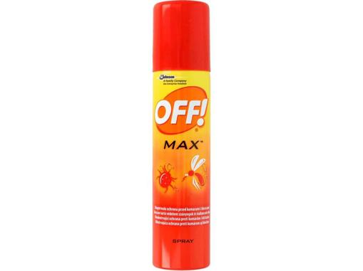Obrázek z OFF Max repelentní sprej 100 ml - CZ