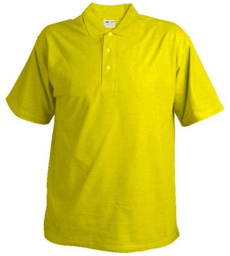 Obrázek z Pánská pique polokošile 220 žlutá