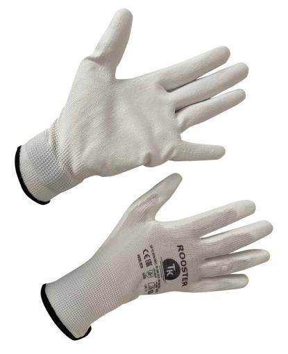 Obrázek z T-K ROOSTER Pracovní rukavice bílé