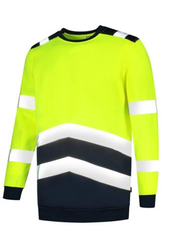 Obrázek z TRICORP T40 Sweater High Vis Bicolor Mikina unisex