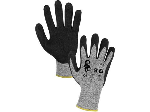 Obrázek z CXS NITA Pracovní protipořezové rukavice
