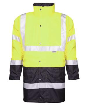 Obrázek ARDON HI-VIZ Reflexní zimní bunda žlutá + modrá
