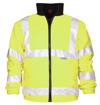 Obrázek z ARDON HI-VIZ Reflexní zimní bunda žlutá + modrá